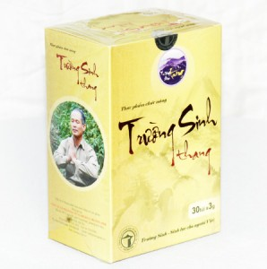 Trường Sinh Thang được bào chế từ trà Trường Sinh mà các nhà sư Tây Tạng dùng hàng ngày
