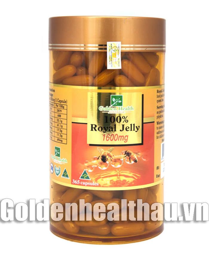 Sữa ong chúa của Tập đoàn Golden Health, do Công ty CP Dược thảo Fansipan phân phối độc quyền tại Việt Nam