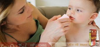 Điều trị viêm xoang cho con, bố mẹ đừng quên 3 điều sau.
