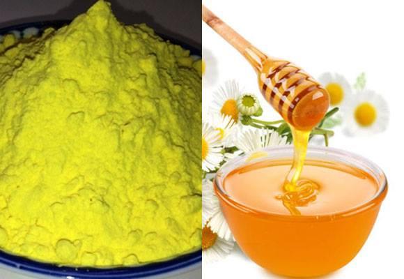 Mẹo chữa đau dạ dày bằng tinh bột nghệ và mật ong
