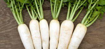 Củ cải trắng đập tan cơn đau sỏi mật