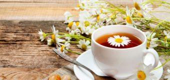 Trà hoa cúc chữa bệnh đau dạ dày