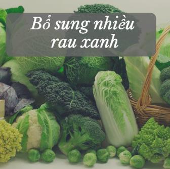 Rau xanh rất tốt cho gan của bạn