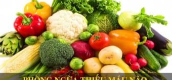 Top 9 siêu thực phẩm phòng ngừa thiếu máu não