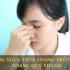 Chú ý: Bệnh viêm xoang sẽ nặng hơn khi trong phòng điều hòa