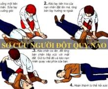 Cách sơ cứu đ.ột q.uỵ n.ão tại chỗ để giảm thiểu nguy hiểm
