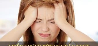 6 biến chứng đột quỵ não vô cùng nguy hiểm bạn cần biết