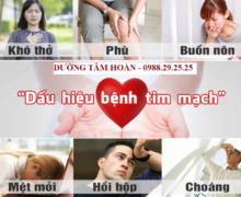 10 dấu hiệu thường gặp của bệnh tim mạch