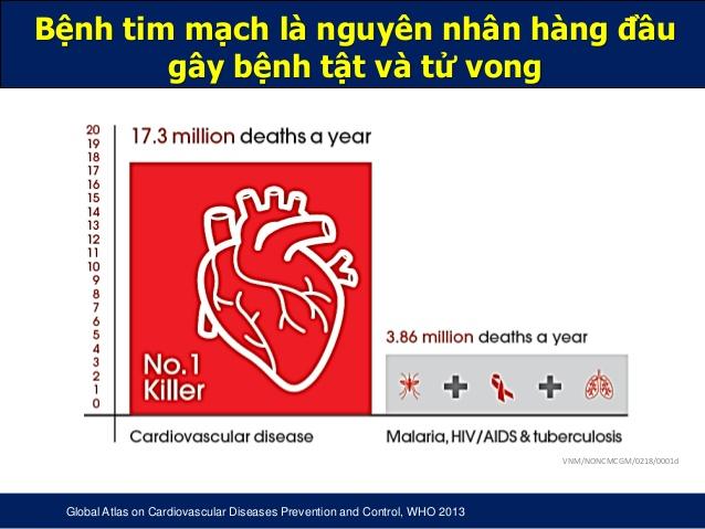 thực trạng bệnh tim mạch