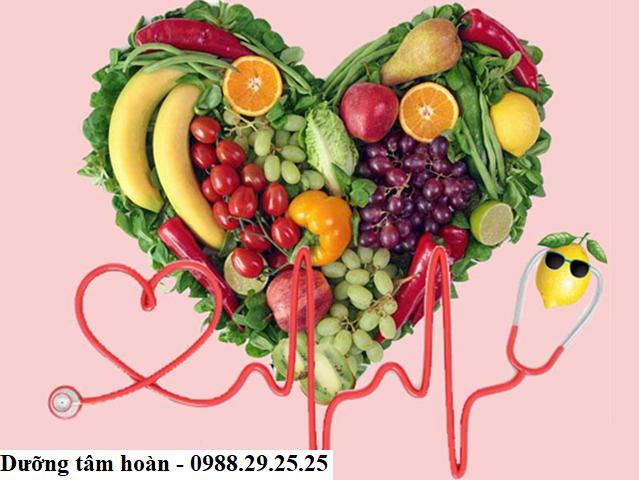 chế độ ăn uống hợp lí cho người bị tim mạch